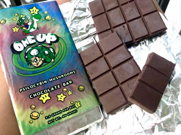 Psilocybin Mushroom Chocolate Bar
